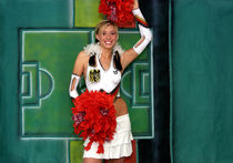 cheerleader for football von Kurt Röhrken
