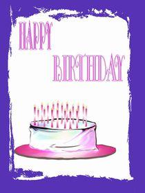 happy birthday von Angelika Reeg