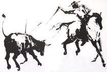 Stierkampf 2 von Elfriede Oesterle
