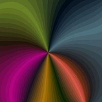 Frakt28000 Rotation in Bunt by Hermann Natterer