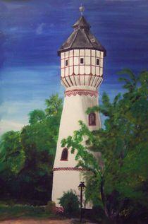 Wasserturm Kirchberg by Kai-Iris Martin
