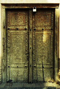 Ancient door by Amirali Sadeghi