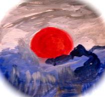 Sonnenuntergang am Arabischen Meer by Ruth Helena Fischer