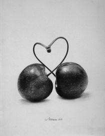 Herzkirschen von Dietrich Moravec