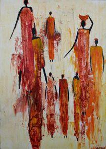afrikanische Frauengruppe von Alice Wettengl