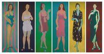 Sechs Stehende von Rainer Schmidt