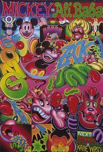 Mickey vs Ali Baba von Rainer Schmidt