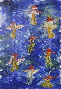 Wasserballett 1 von Anke Platow