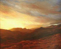 'Sonnenuntergang in Griechenland' von Marita Zacharias