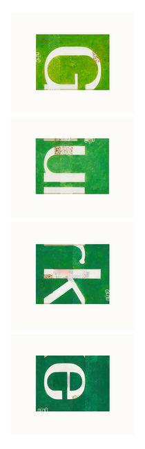 vier Grün von Andreas Adam