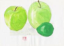 Äpfel und Limette von Andreas Adam