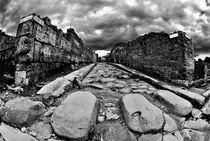 Die Strassen von Pompeji