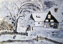 Winter im Erzgebirge von Michael Thomas Sachs