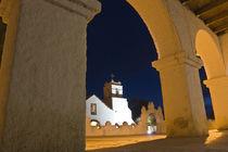 Kirche in San Pedro de Atacama by Thomas Rathay