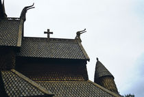 Stabkirche in Norwegen by Thomas Rathay
