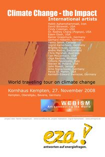 Show Poster Climate Change by Ingrid Kamerbeek
