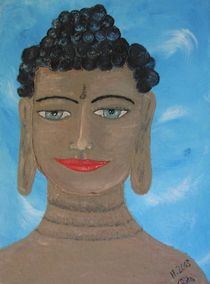Buddahs Lächeln von Rita Poos