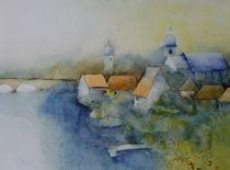 Landschaft am Fluss von Stefanie Ihlefeldt