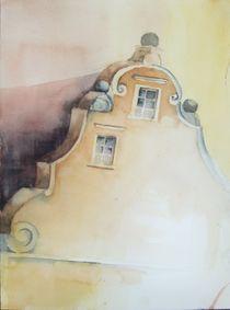 Historisches Haus in Landshut von Stefanie Ihlefeldt