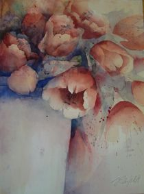 Tulpen in einer Vase von Stefanie Ihlefeldt