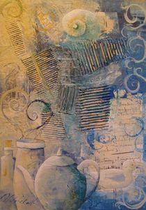 Stillleben in Blau von Stefanie Ihlefeldt