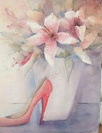Der rote Schuh by Stefanie Ihlefeldt