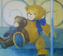 Zwei Bärenfreunde by Stefanie Ihlefeldt