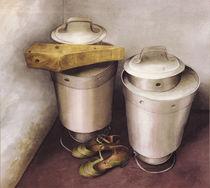 Milchkannen und Damenschuhe von paul wans