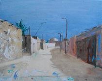 Eine Straße in Buchara by Birk Engmann