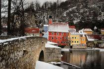 Kallmünz im Winter by Stefan Eber