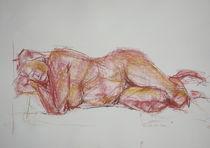 Akt rot by Brigitte Eckl