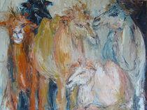Kamele von Brigitte Eckl