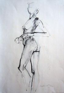 Tänzerin,Akt von Brigitte Eckl