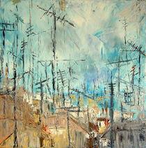 Lissabon,Antennenwald von Brigitte Eckl