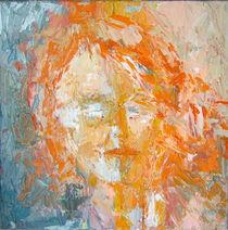 Kopf orange von Brigitte Eckl