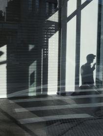 Shadow of a Man Smoking  von Robert Englebright