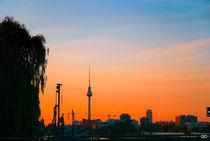 Sunset in Berlin by Anne Bollwahn
