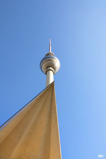TV- tower of Berlin II/ Germany by Anne Bollwahn