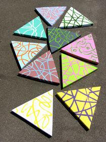 Komposition aus Dreiecken by Reiner Poser