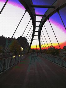 Bridge in the morning von Reiner Poser