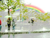 Optimistischer Regentag by Reiner Poser