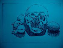 totenkopf blau von siegfried schmid