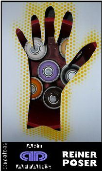 Meine Hand für meine Kunst by Reiner Poser