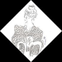 Die Dame mit dem schönen Rücken von Reiner Poser