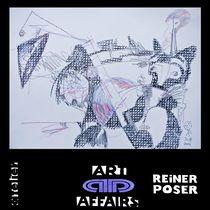 Sirene, auf ihre Freundlin wartend by Reiner Poser