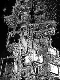 Eiswürfel in der Nacht by Reiner Poser
