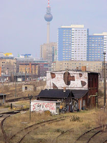 Downtown Berlin some years ago by Reiner Poser