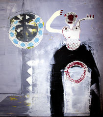 Der Stelzenmann by Reiner Poser