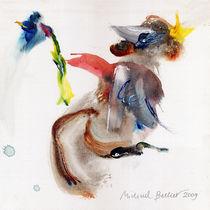 Waldprinz mit der blauen Blume von Michael Becker