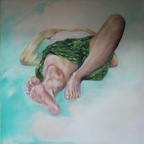 grüne Hose 1 von Evelin Ulsenheimer
